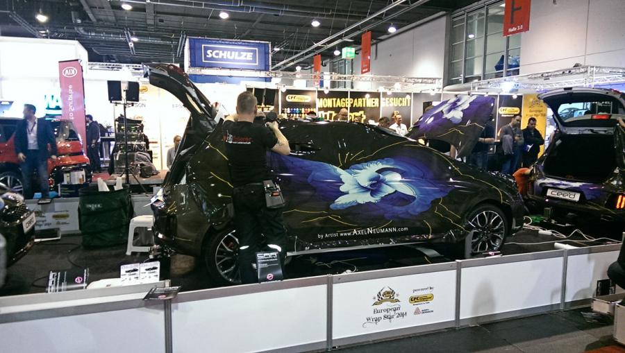 European Wrap Star 2014 Art Wrap by Artist Axel Neumann